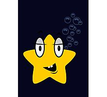 Cute Starfish VRS2 Photographic Print