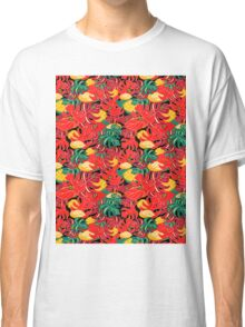Exotic pattern and jungle frogs Classic T-Shirt