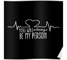 Grey's Anatomy - My Person  Poster