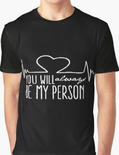 Grey's Anatomy - My Person  Graphic T-Shirt