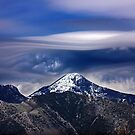 Strange cloud over Mavrovouna mountain by Hercules Milas