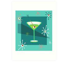 Creepy Cocktail Art Print