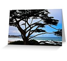 Seaside Silhouette Greeting Card