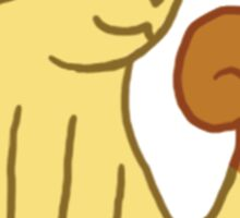 Meowth the Scratch Cat Pokemon Sticker
