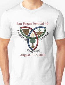 Pan Pagan Festival 40 T-Shirt