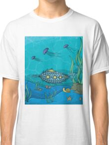 Nautilus under the sea Classic T-Shirt