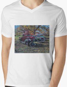 Vintage Sale, artist Lynn Garwood Mens V-Neck T-Shirt