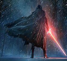 Kylo Ren - Star Wars Episode VII by 2205