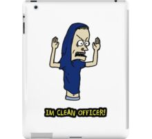 I Am a Clean Cornholio! iPad Case/Skin