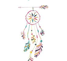 Indian-American dream catcher by Lidiebug