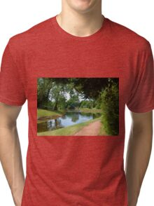 Croome, Tranquil Waters Tri-blend T-Shirt