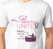 Girl Gamers Unite Unisex T-Shirt