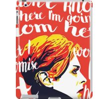 WON'T BE BORING iPad Case/Skin