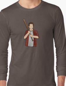 Stiles Stilinski / Dylan O'Brien / Teen Wolf / Baseball Bat Long Sleeve T-Shirt