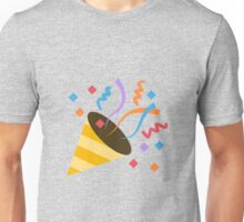 Party popper emoji Unisex T-Shirt