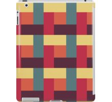 Fallen Leaf Block Pattern iPad Case/Skin