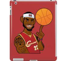lebron james clevland iPad Case/Skin