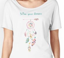 Indian-American dream catcher Women's Relaxed Fit T-Shirt
