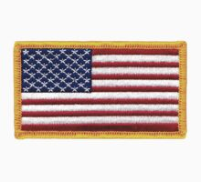 American ARMY, Flag, Embroidered, Stars and Stripes, USA, United States, America, Military Badge Kids Clothes