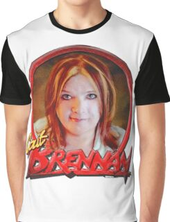 Cait Brennan - Debutante Glam-inspired cover image Graphic T-Shirt