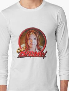 Cait Brennan - Debutante Glam-inspired cover image Long Sleeve T-Shirt