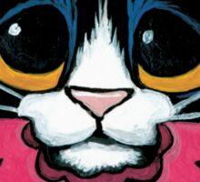 Tuxedo Cat, Juicy Watermelon Sticker