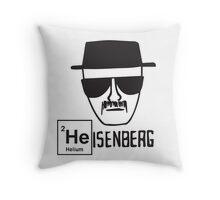 Heisenberg sketch  Throw Pillow