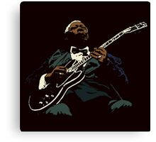 Spirit Of Blues Canvas Print
