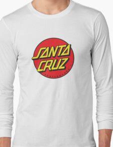santa cruz Long Sleeve T-Shirt
