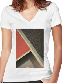 PJV/55 Women's Fitted V-Neck T-Shirt