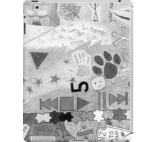 Ed Sheeran Tattoos Drawing iPad Case/Skin