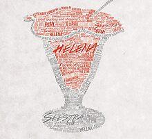 Helena Jello Typography by QueerMerch