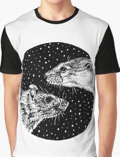 Lutra et Rattus Graphic T-Shirt