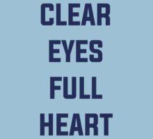 Clear Eyes, Full Heart One Piece - Short Sleeve