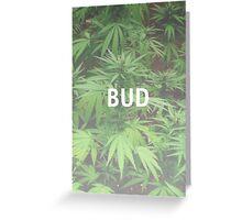 Weed Case Design #5 - Bud Greeting Card