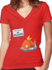 Pokemon - Magikarp - Pokemon Women's Fitted V-Neck T-Shirt
