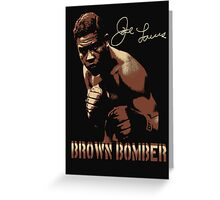 joe louis Greeting Card