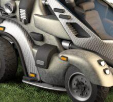 Futuristic Scout Vehicle Sticker