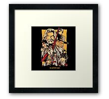 The Hateful eight by quentin tarantino movie Framed Print