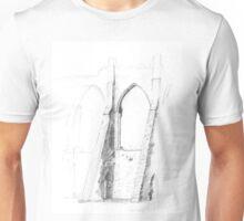 Bayham Abbey, Kent Unisex T-Shirt