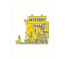 Mystery Shack Art Print