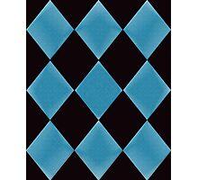 Diamond Tiles Photographic Print