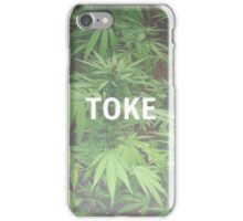 Weed Case Design #6 - Toke iPhone Case/Skin