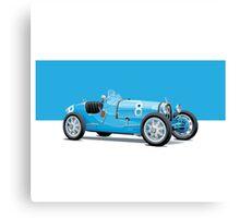 Bugatti Classic Vintage Canvas Print