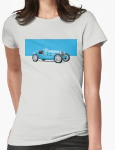 Bugatti Classic Vintage Womens Fitted T-Shirt