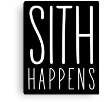 Sith Happens | Blank version Canvas Print