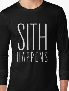Sith Happens | Blank version Long Sleeve T-Shirt