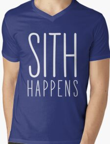 Sith Happens   Blank version Mens V-Neck T-Shirt