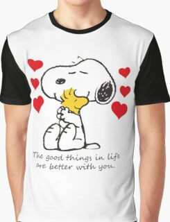snoopy love Graphic T-Shirt