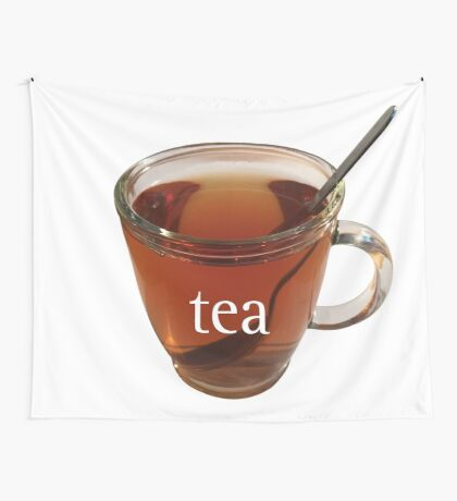 Cup of Tea Wall Tapestry